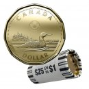 2019 Canadian $1 Common Loon Dollar Original Coin Roll