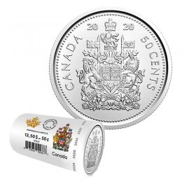 RCM Uncirculated Coat of Arms 1998-50-cents SPECIMEN