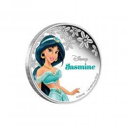 2015 Niue $2 Disney Princess: Jasmine - 1 oz Fine Silver Coin