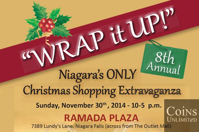 Exhibiting at 'Wrap It Up' Christmas Shopping Extravaganza 2014