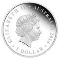 2017 Australian $1 Wedding Congratulations - 1 oz Fine Silver Coin