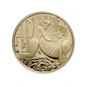 1994 Canada 14-karat Gold $100 Coin - The Home Front
