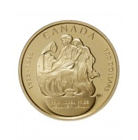 1998 Gold 100 Dollar Coin - 75th Anniversary of the Nobel Prize for the Discovery of Insulin