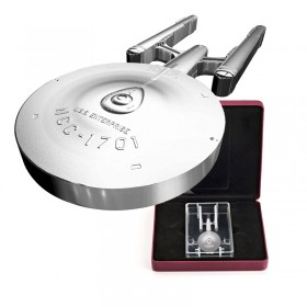 2017 Canadian $100 Star Trek™ USS Enterprise NCC-1701 10 oz Fine Silver Coin
