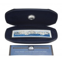 2000 10 Cent Coin and Stamp Set - Tall Ships