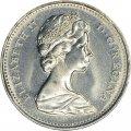 1969 Canadian 10-Cent Schooner Dime Coin (Brilliant Uncirculated)