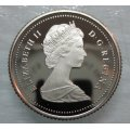 1987 Canadian 10-Cent Schooner Dime Coin (Brilliant Uncirculated)
