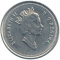 1990 Canadian 10-Cent Bluenose Schooner Dime Coin (Brilliant Uncirculated)