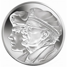 2005 Canadian $10 Year of the Veteran Proof Silver Coin