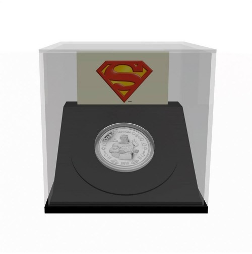2013 Fine Silver 10 Dollar Coin - 75th Anniversary of Superman™