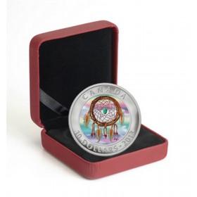 2013 Fine Silver 10 Dollar Coin - Dreamcatcher