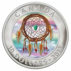 2013 Canada Fine Silver $10 Coin - Dreamcatcher
