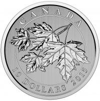 2015 Fine Silver 10 Dollar Coin - Maple Leaf