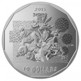 TM Wile E.Coyote-Super Genius 2015 $10 Fine Silver Coin Looney Tunes