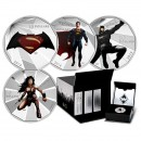 2016 Canada $10 Batman v Superman: Dawn of Justice™ 4-coin Set with Display Box