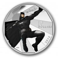 2016 Fine Silver 10 Dollar Coin - Batman v Superman: Dawn of Justice™ - BATMAN™
