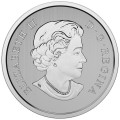 2016 Canada Fine Silver 10 Dollar Coin - Canadian Maple Leaves