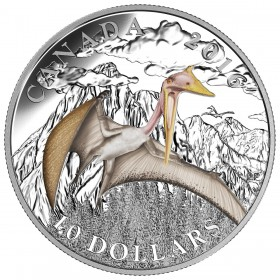 2016 Canadian $10 Day of the Dinosaurs: Terror of the Sky - 1/2 oz Fine Silver Coin