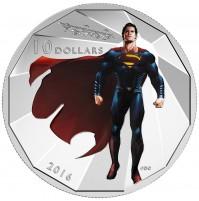 2016 Fine Silver 10 Dollar Coin - Batman v Superman: Dawn of Justice™ - SUPERMAN™