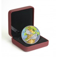 2017 Fine Silver 10 Dollar Coin - Birds Among Nature's Colours: Tufted Titmouse