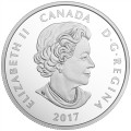 2017 Canada Fine Silver $10 Coin - Birds Among Nature's Colours: Nuthatch