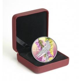 2017 Fine Silver 10 Dollar Coin - Birds Among Nature's Colours: Purple Martin