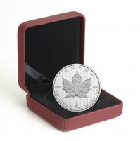 2017 Canada Fine Silver 10 Dollar Coin - Celebrating Canada's 150th: Iconic Maple Leaf
