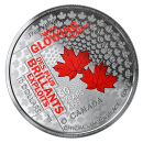 2019 Canadian $10 50th Anniversary of the Official Languages Act - Fine Silver Coloured Coin