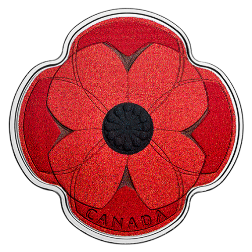 2019 Canadian $10 Remembrance Day - 1/2 oz Fine Silver Coin