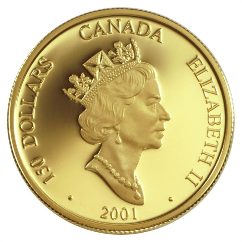 2001 canadian coin set
