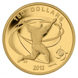 2013 Canada Pure Gold $150 Coin - Celebrate Baseball: Celebration