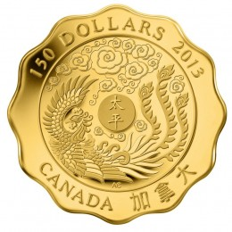 2013 Canada Pure Gold $150 Coin - Blessings of Peace
