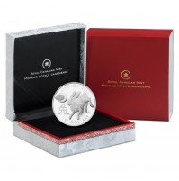 2011 Fine Silver 15 Dollar Coin - Year of the Rabbit