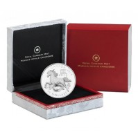 2014 Fine Silver 15 Dollar Coin - Year of the Horse