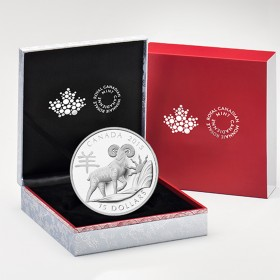 2015 Fine Silver 15 Dollar Coin - Year of the Sheep