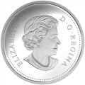 2017 Canadian $15 Celebration of Spring: Lilac Blossoms Fine Silver Coloured Coin