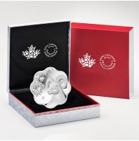 2015 Fine Silver 15 Dollar Coin - Lunar Lotus: Year of the Sheep