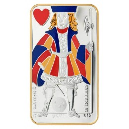 2008 Canada Sterling Silver $15 Coin - Playing Card Series: Jack of Hearts