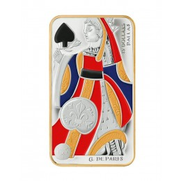 2008 Canada Sterling Silver $15 Coin - Playing Card Series: Queen of Spades