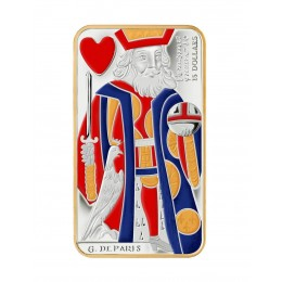 2009 Canada Sterling Silver $15 Coin - Playing Card Series: King of Hearts