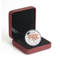 2012 Fine Silver 1 Cent Coin with Gold Plating - Farewell to the Penny