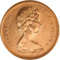 1978 Canadian 1-Cent Maple Leaf Twig Penny Coin (Brilliant Uncirculated)