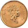 1993 Canadian 1-Cent Maple Leaf Twig Penny Coin (Brilliant Uncirculated)