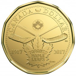 2017 (1917-) Canada $1 5-Coin Circulation Pack - 100th Anniversary of Toronto Maple Leafs®