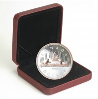 2018 Canada Big Coin Series $1 Voyageur - 5 oz Fine Silver Coin
