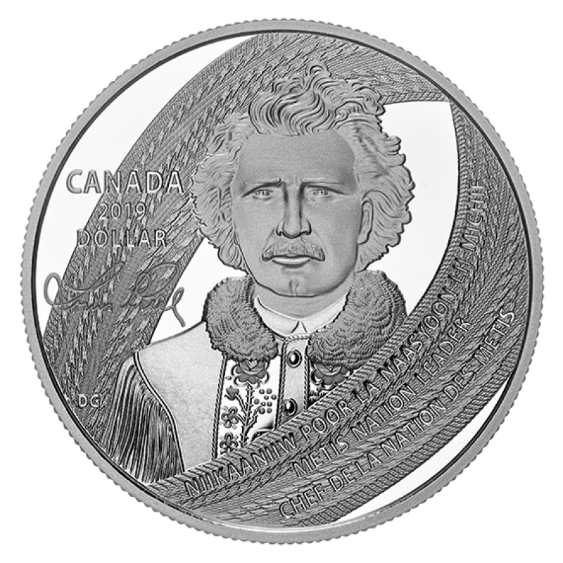 2019 Canada Birthday Dollar Graded as Proof Like From Original Set