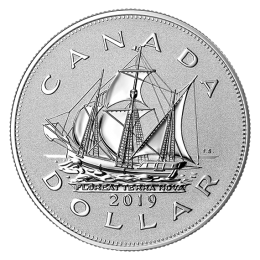 2019 Canadian $1 Heritage of the Royal Canadian Mint: The Matthew - 1 oz Fine Silver Piedfort