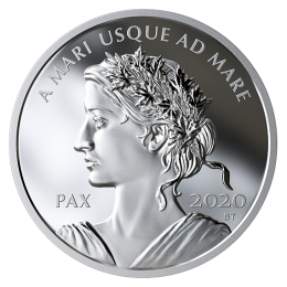 2020 Canadian $1 Peace Dollar - Fine Silver Coin