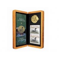 2004 Elusive Loon Dollar Coin and Stamp Set