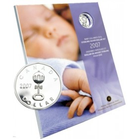 2007 Baby's Lullabies CD & Sterling Silver Dollar